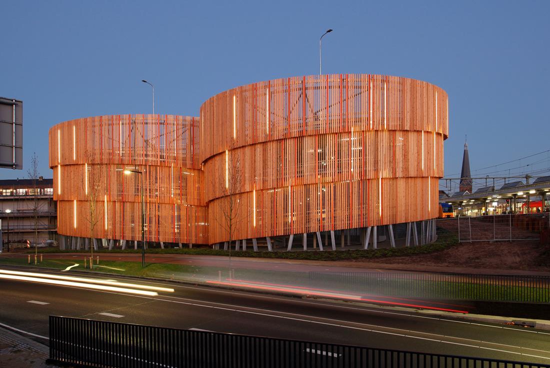 Parkeergarage Zutphen | Foreco - innovatief in hout