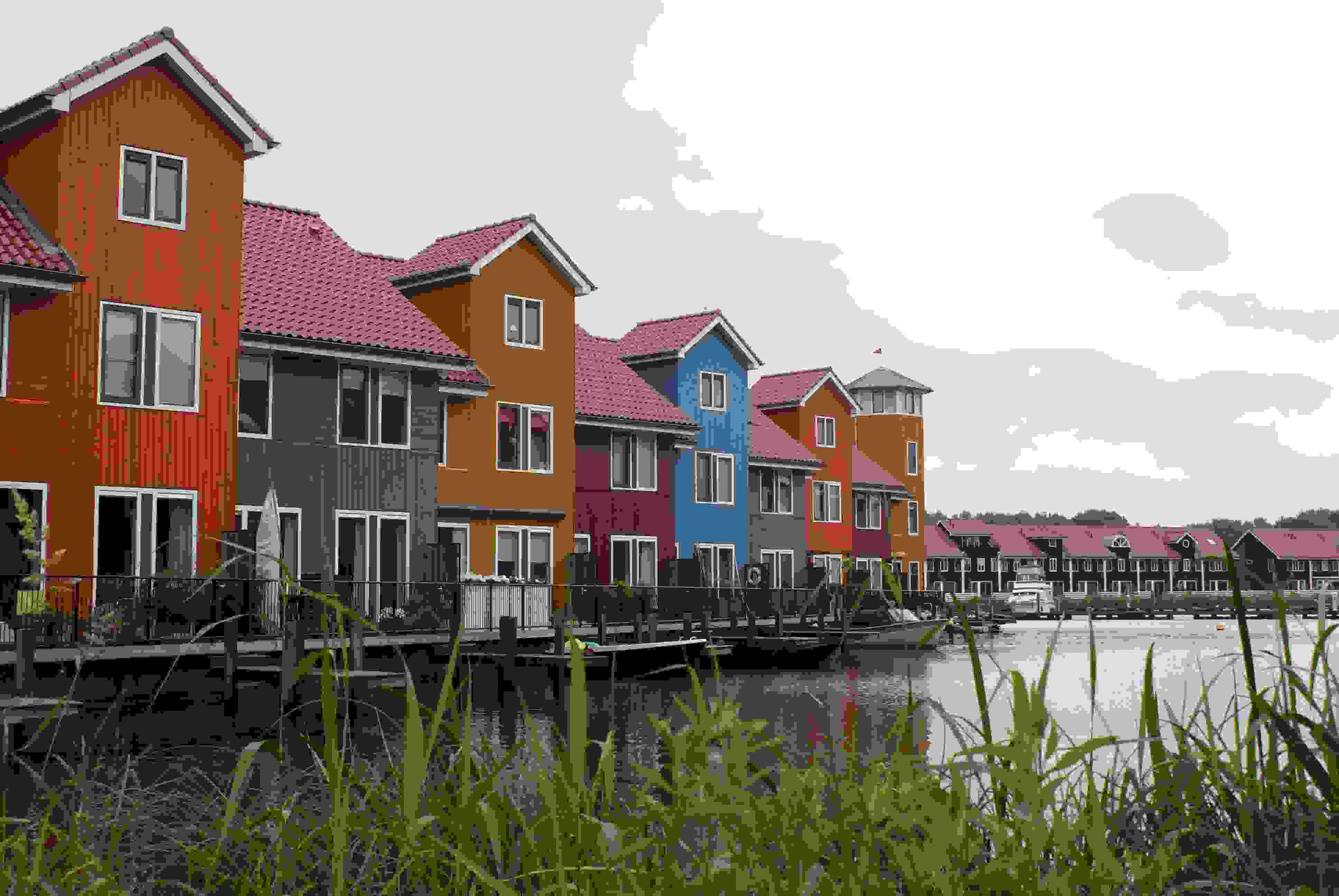 Woningen haven Reitdiep