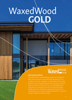 Brochure WaxedWood Gold