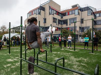 Calisthenics park in Leiden